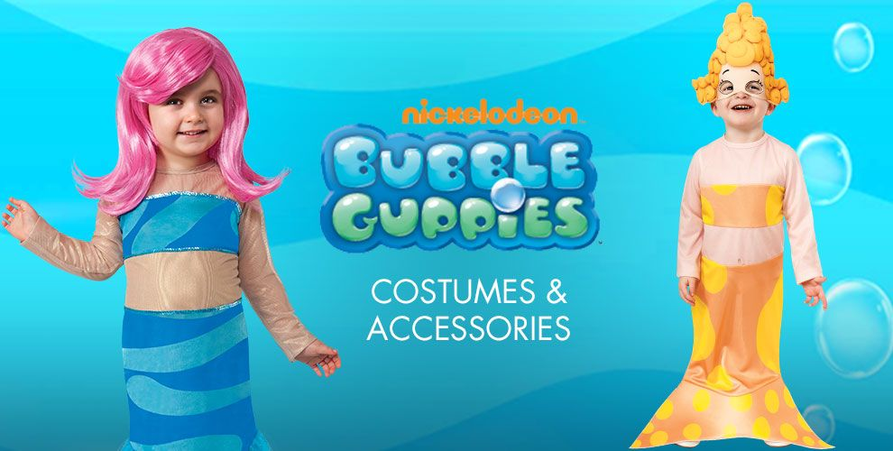 Bubble Guppies Party Supplies – Costumes