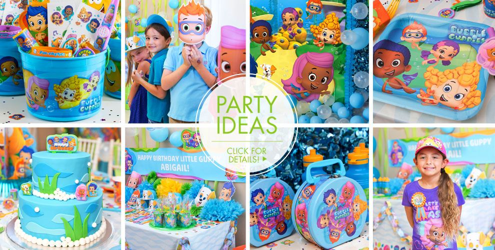 Bubble Guppies Party Supplies Birthday