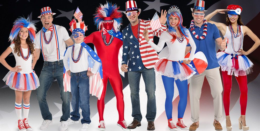 Patriotic Costume Accessories