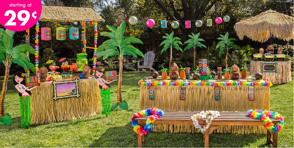 Luau Decorations #1