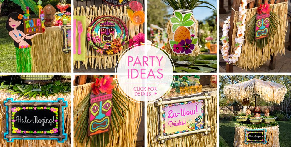 Luau Decorations #4