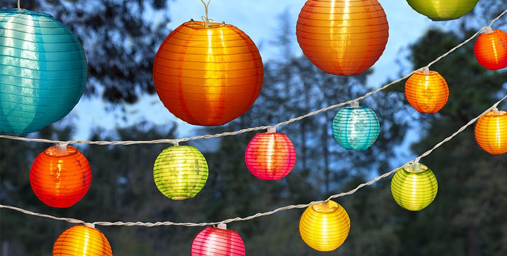 Summer Patio Lights & Lanterns #1