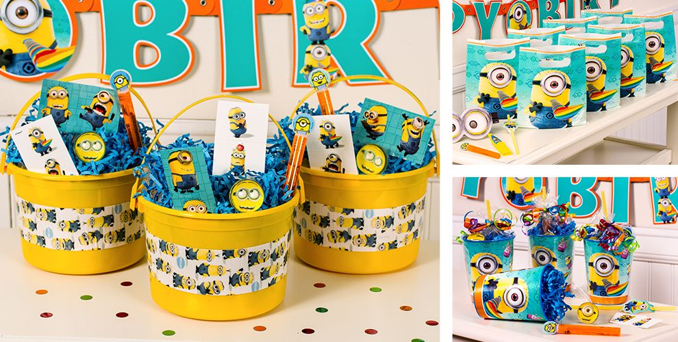 Despicable Me Party Favors