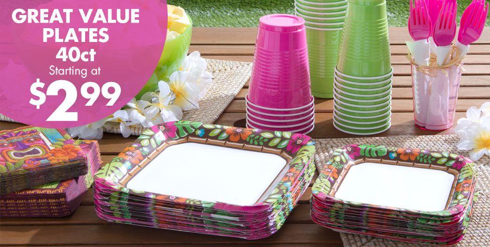 Summer Luau Party Supplies #1