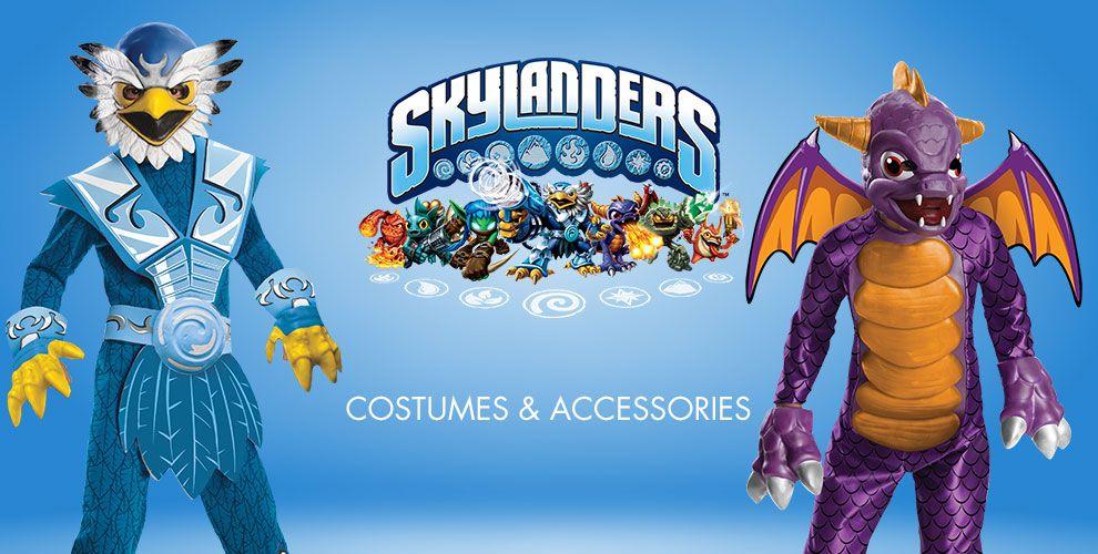 Skylanders Costumes