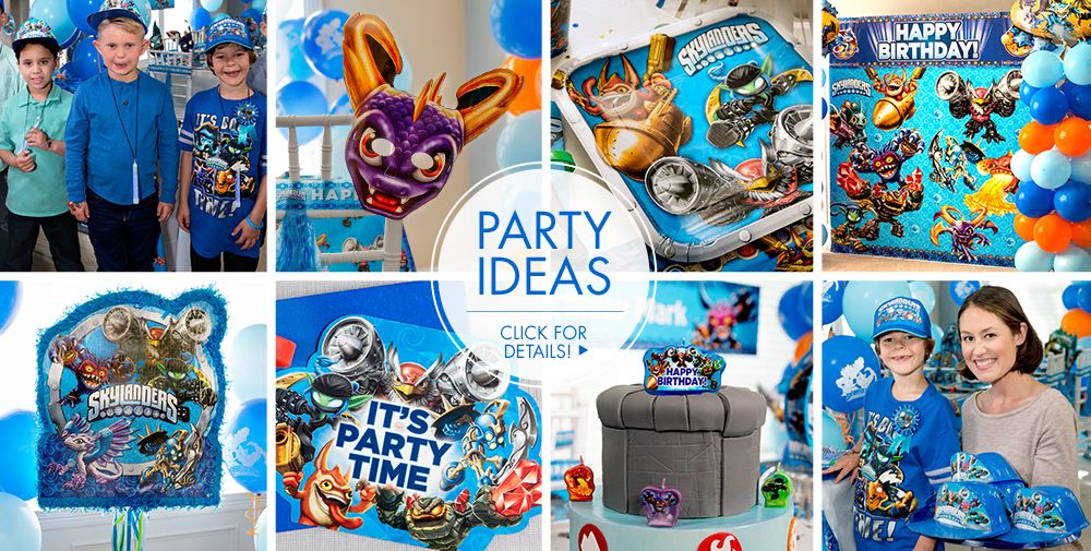 Skylanders Party Supplies #3