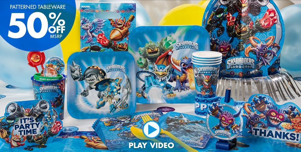 Skylanders Party Supplies #1