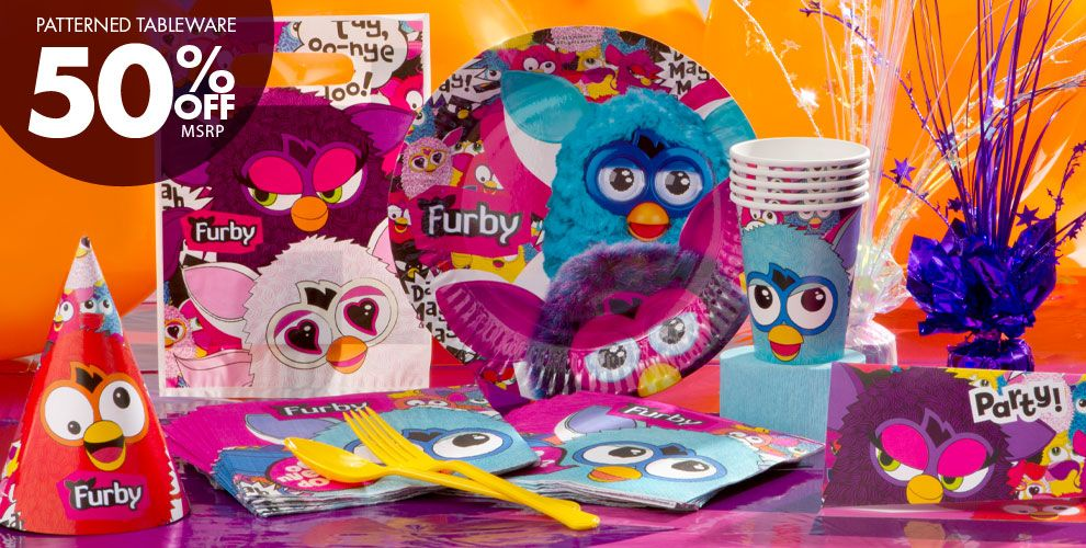 Furby Party Supplies