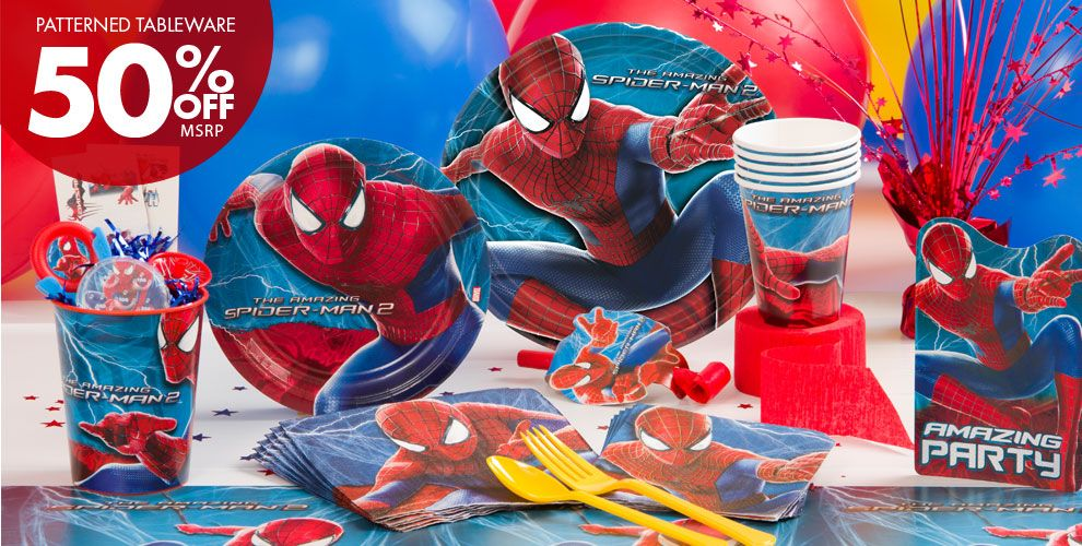 Amazing Spider-Man Party Supplies #1