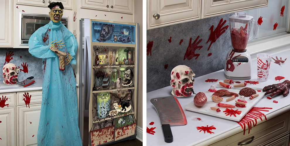 Decorating Ideas > Asylum Halloween Decorations  Decorations, Tableware  ~ 074650_Halloween Asylum Door Prop