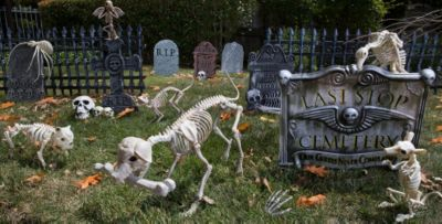 Halloween Graveyard Decorations Diy | Home Design Ideas