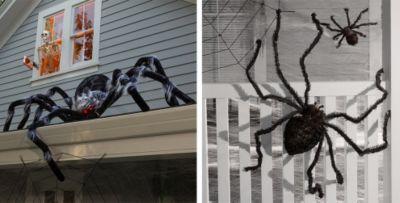 Good Spider Webs Halloween Decorations Part - 1: ... Giant Spiders U0026 Spider Webs Halloween Decorations ...