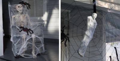 Spider Webs Halloween Decorations Part - 15: ... Giant Spiders U0026 Spider Webs Halloween Decorations. «»
