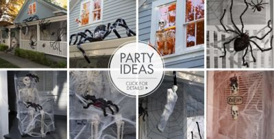Ordinary Spider Webs Halloween Decorations Part - 3: ... Halloween Decorations; Giant Spiders U0026 Spider Webs Party Ideas. «»