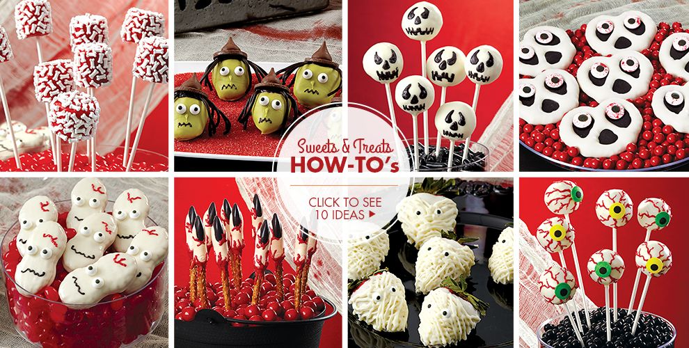 Scary Halloween Sweets & Treats – Party Ideas