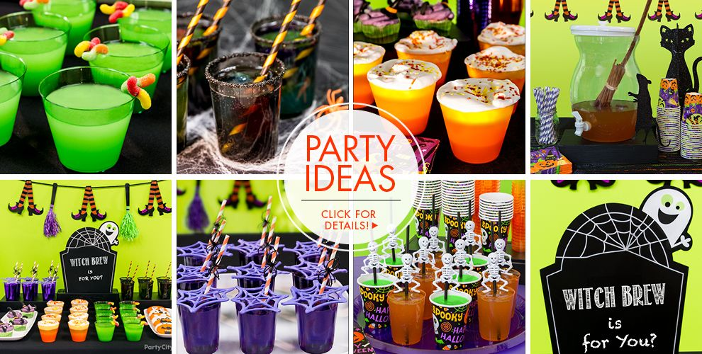 Halloween Drinkware & Serveware – Party Ideas