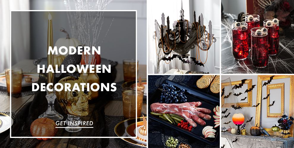 Modern Halloween Decorations – Party Ideas