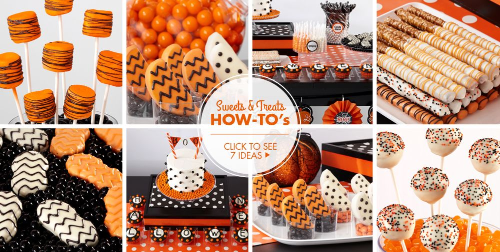 Modern Halloween Sweets & Treats – Party Ideas