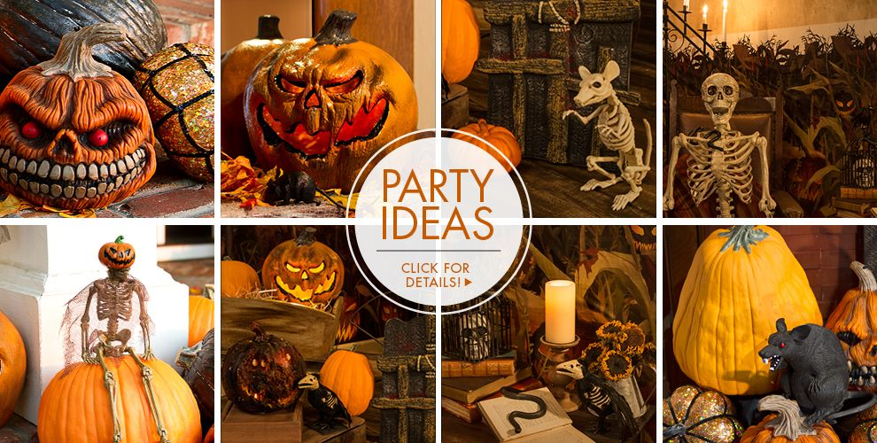 Scary Pumpkins Halloween Decorations – Party Ideas