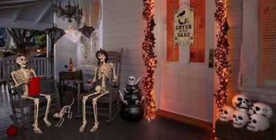 skeletons u0026 skulls halloween decorations