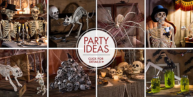 Halloween Skeletons — Party Ideas Click for Details
