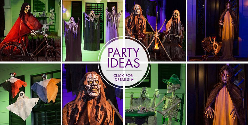 Creatures and Props – Party Ideas