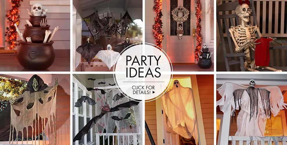 Skeletons & Skulls Party Ideas