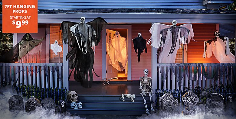 7FT Halloween Props starting at $9.99