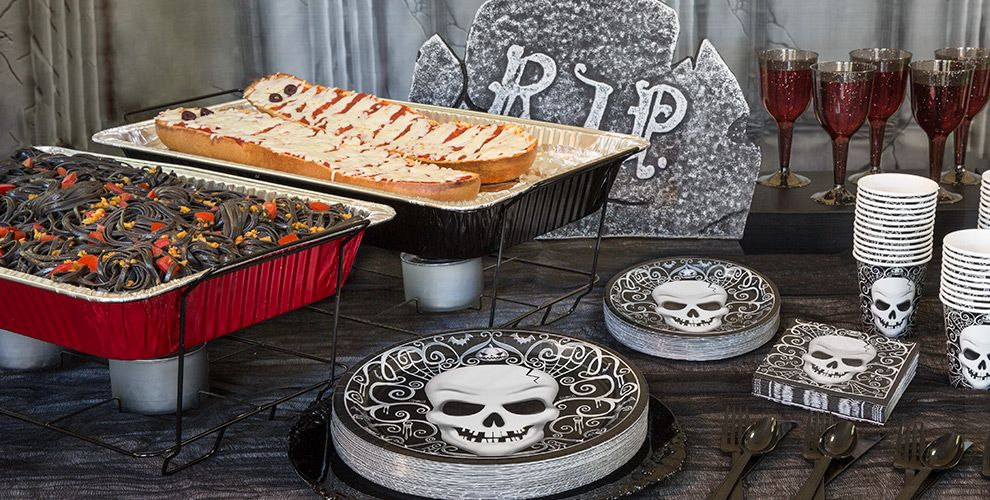 Halloween Chafing Dishes & Aluminum Pans