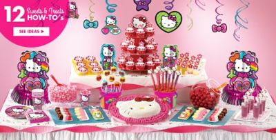 hello kitty party theme decorations