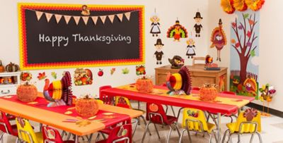 Marvelous Thanksgiving Classroom Party Supplies; Friendsgiving. «»