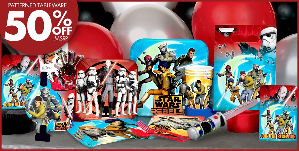 Star Wars Rebel Party Supplies #1