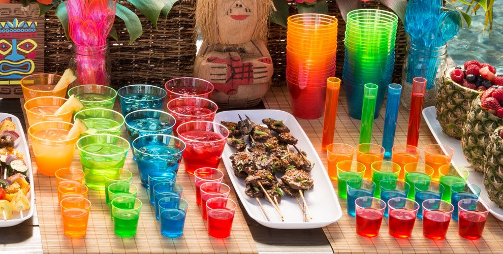 Luau Drinkware #4