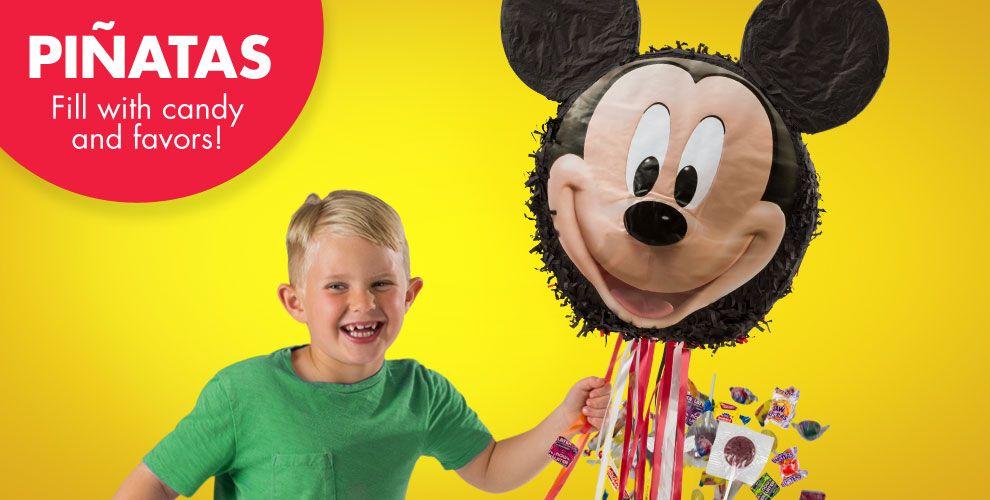 Mickey Mouse Pinatas