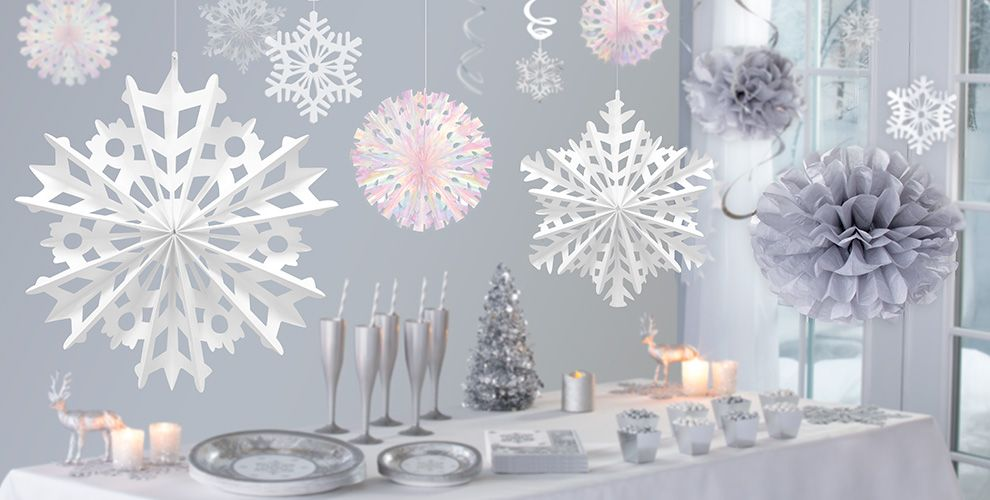 Silver Winter Wonderland Theme Party ...