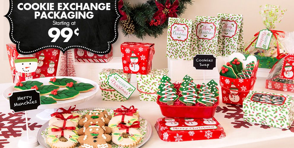 Christmas Treat Bags & Boxes