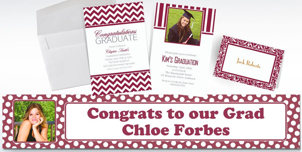 Berry Custom Invitations & Banners