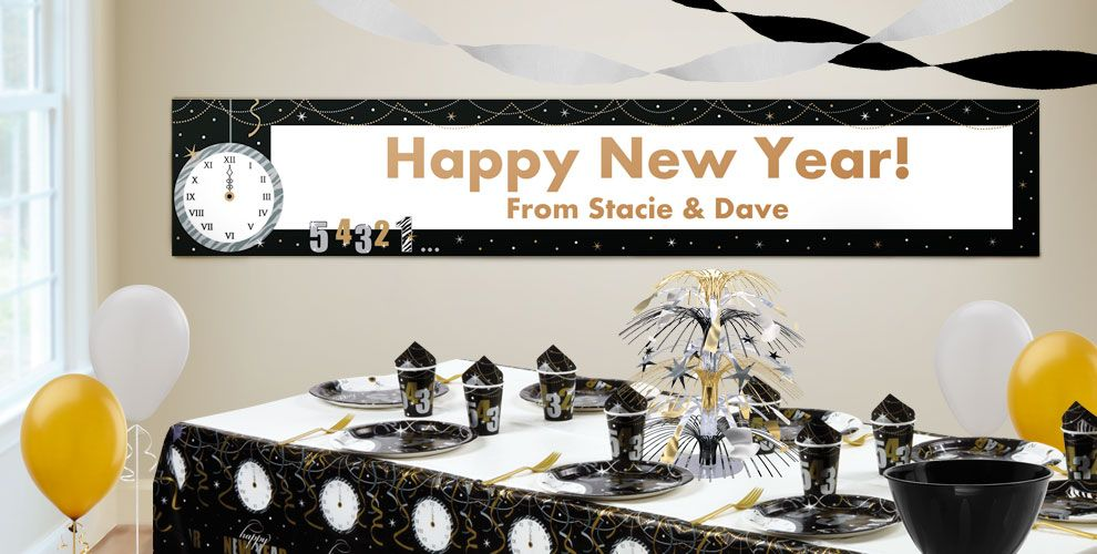 New Year's Eve Banners