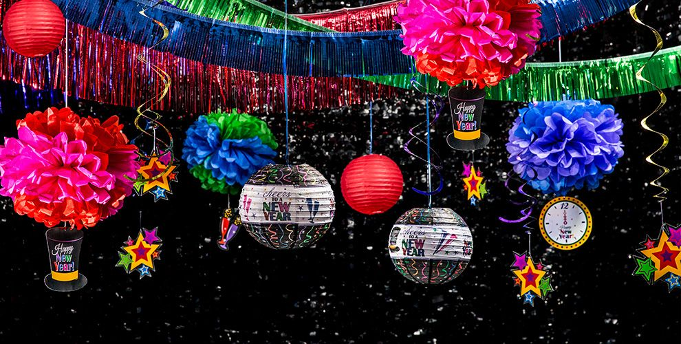 New Year's Eve Hanging Decorations - Party City