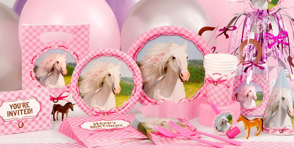 Heart My Horse Party Supplies