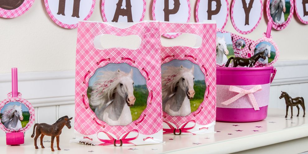 Heart My Horse Party Favors