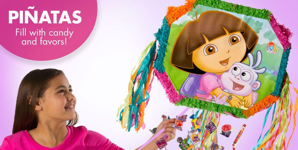 Dora the Explorer Pinatas