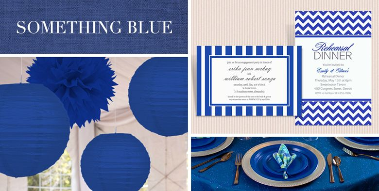 Navy Wedding Supplies