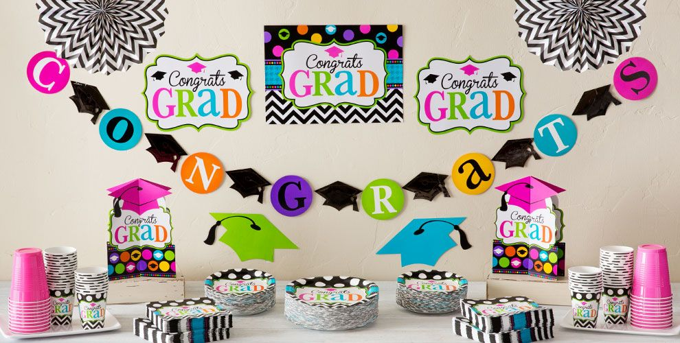 Graduation Room Decorating Kits — Congrats Grad