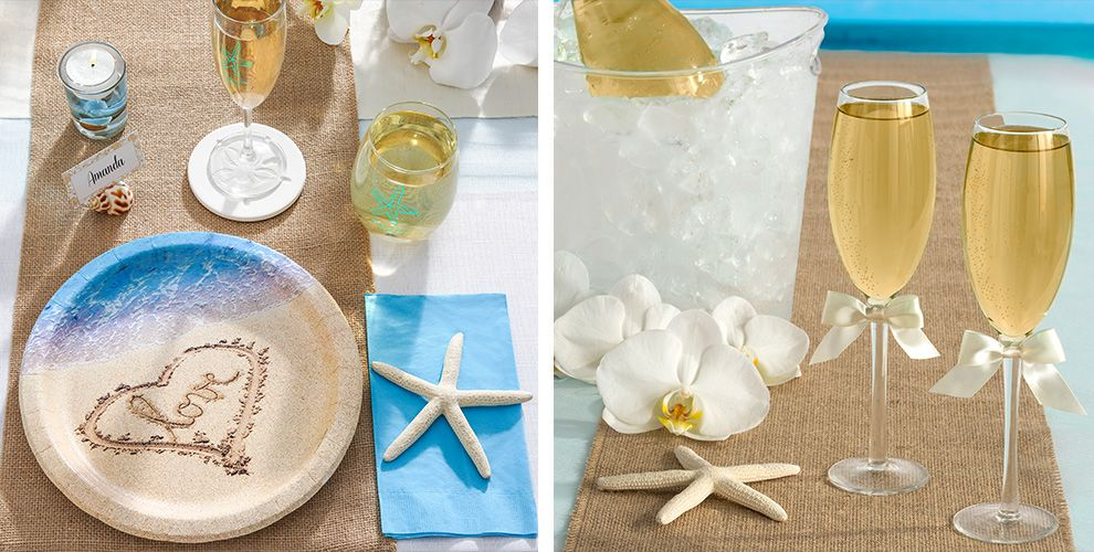 Beach Love Engagement Party Supplies