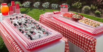 ... Gingham Picnic Party Theme ...