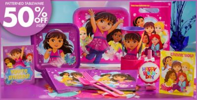 Birthday Party Supplies Dora Birthday Party Supplies