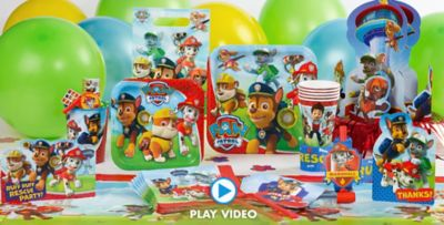 PAW Patrol Party Supplies PAW Patrol Birthday Party City