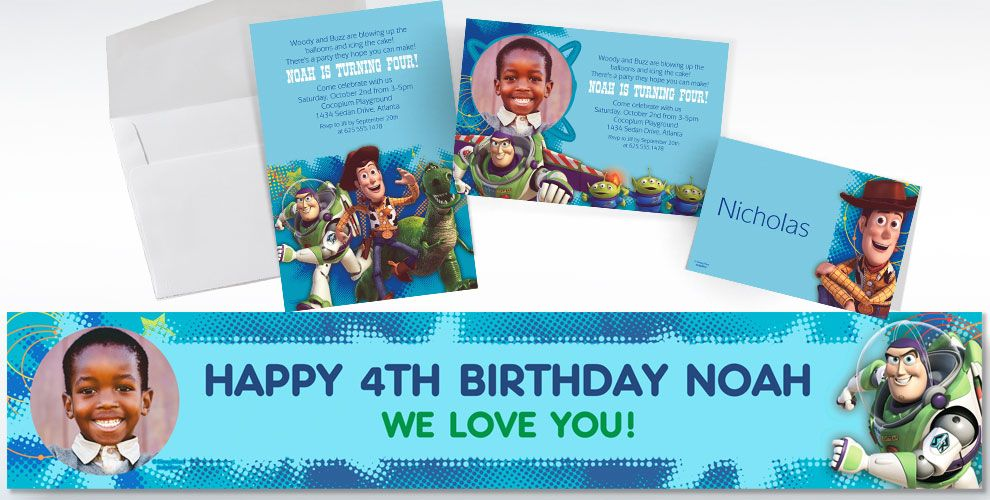 Toy Story Invitations & Banners