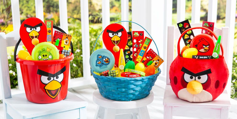 Angry Birds Build a Basket